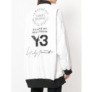 ff7a2268ab8c5 Adidas Y-3 reversible bomber jacket chili pepper NWT